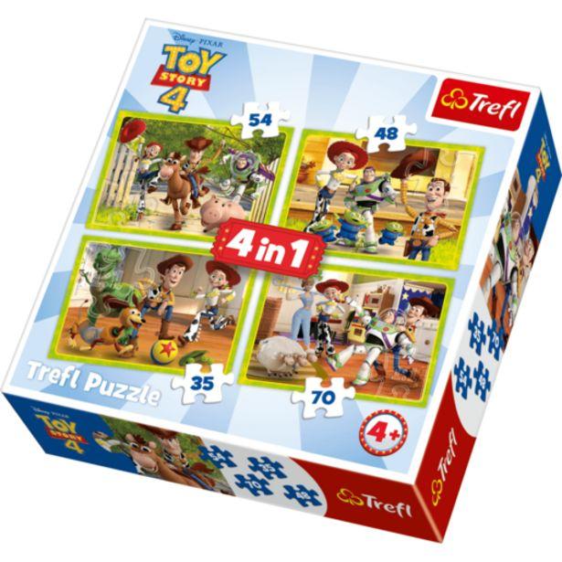 Oferta de Toy Story 4 Puzle Progresivo 4 In 1 35. 48. 54 y 70 Piezas por 6,5€