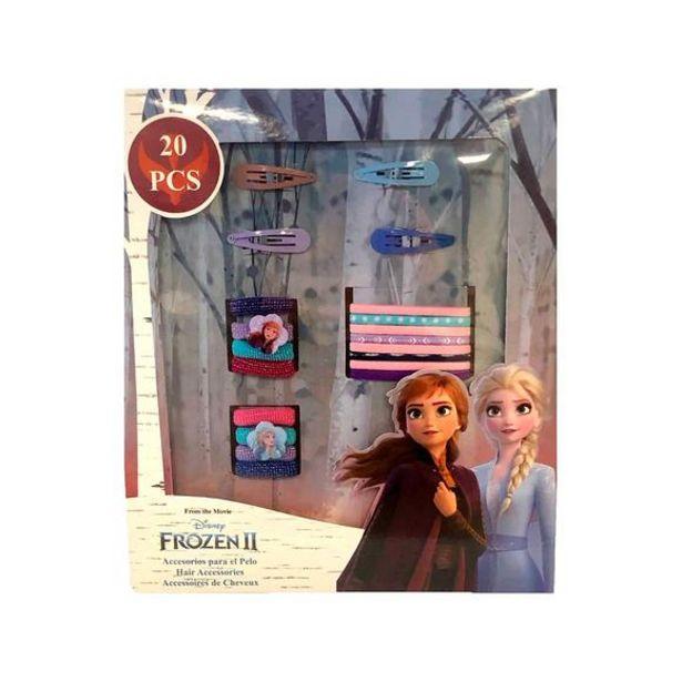 Oferta de Disney Frozen 2 Pack de 20 Accesorios Para El Pelo por 5€