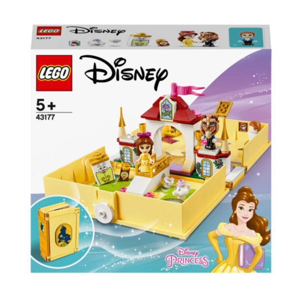 Oferta de Lego Disney Princess Cuentos: Bella- 43177 por 22€