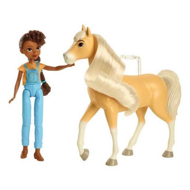 Oferta de Spirit El Indomable Caballo y Figura - Pru y Chica Linda por 17,6€