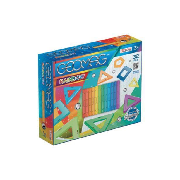 Oferta de Geomag Rainbow 32 Piezas por 15€