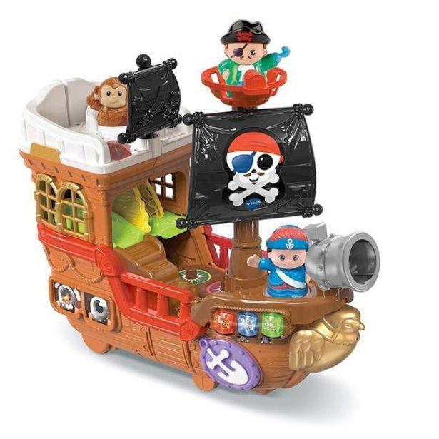 Oferta de VTech Tut Tut Amigos Barco Pirata Caza Tesoros por 44,99€