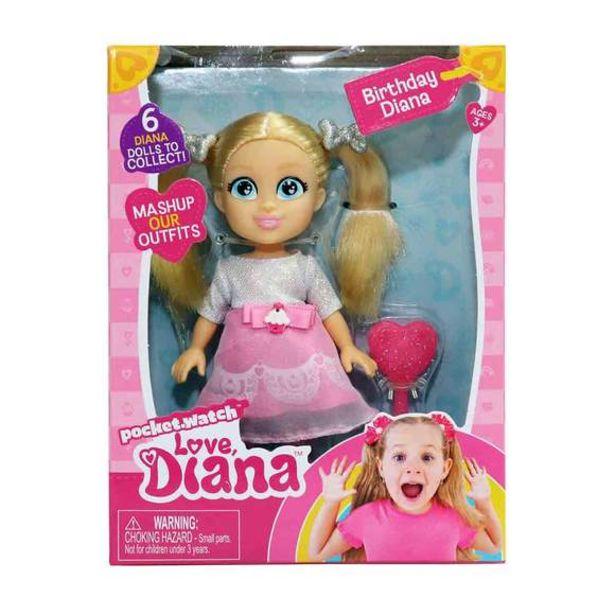 Oferta de Love Diana Muñeca 15cm - Cumpleaños por 15€