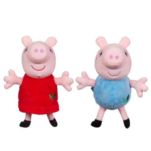 Oferta de Peppa Pig - Peluche Eco Surtido por 8€
