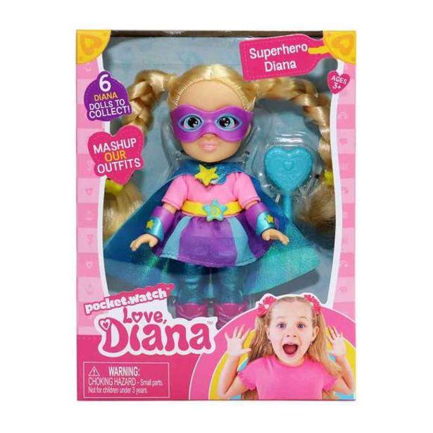 Oferta de Love Diana Muñeca 15cm - Superheroína por 15€