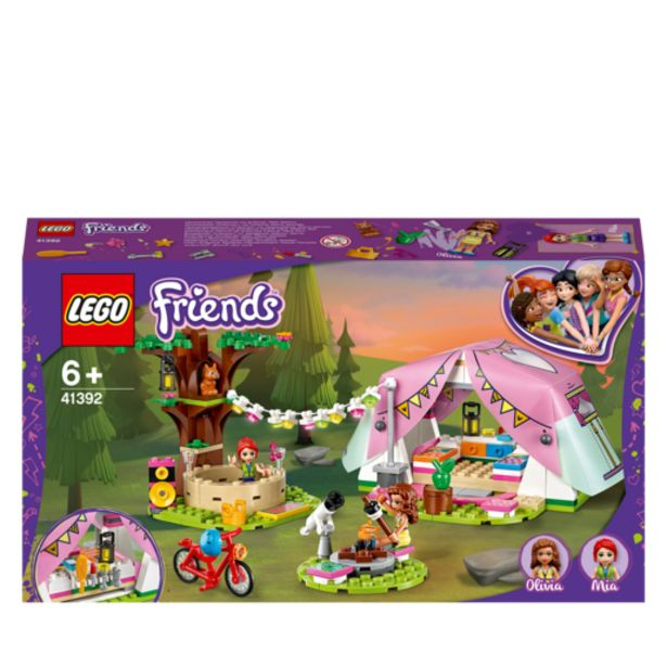 Oferta de Lego Friends Glamping en La Naturaleza- 41392 por 29,99€