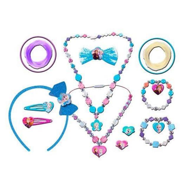 Oferta de Disney Frozen 2 Set de Accesorios de Belleza 12 Piezas por 8€