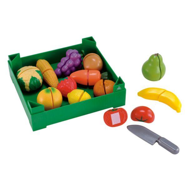 Oferta de Early Learning Centre Caja Frutas y Verduras Cortadas por 16€