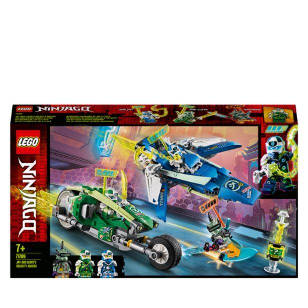 Oferta de Lego Ninjago Vehículos Supremos de Jay y Lloyd- 71709 por 29,99€