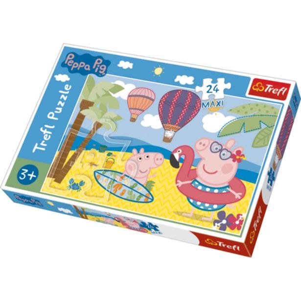 Oferta de Puzle Maxi 24 Piezas Peppa Pig Vacaciones por 6,5€