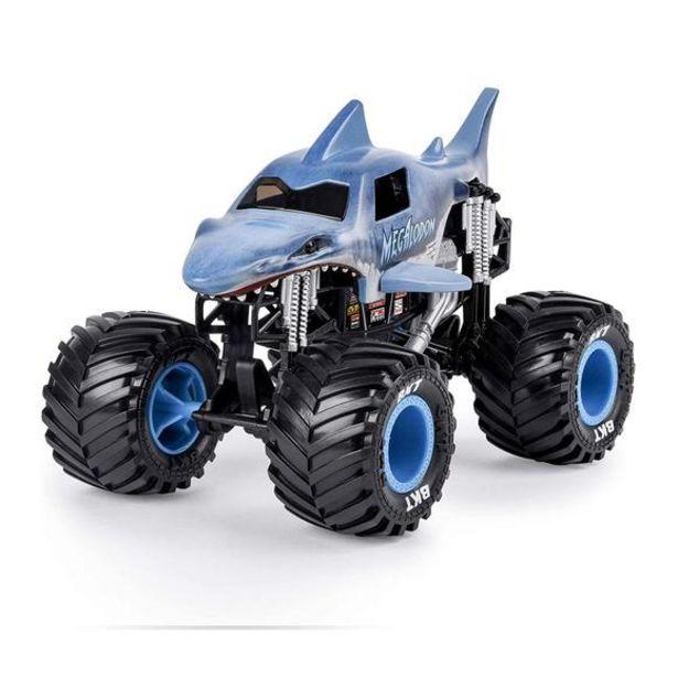 Oferta de Monster Jam Monster Truck Megalodon Escala 1:24 por 13€