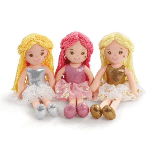 Oferta de Snuggle Buddies Muñeca Trapo Fairy 35 Cm Surtidas por 8€