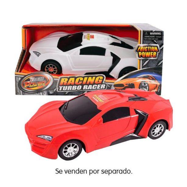 Oferta de Coche Fricción Turbo Racer 30 cm por 6,5€