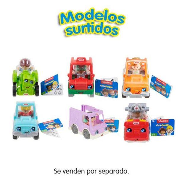 Oferta de Fisher Price Little People Vehículos Pequeños (Varios Modelos) por 6€