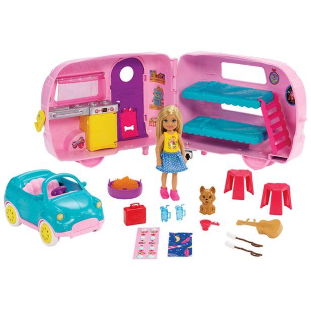 Oferta de Barbie Club Caravana de Chelsea por 35,99€