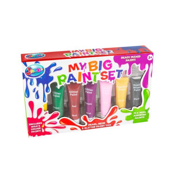 Oferta de My Big Paintset de Pinturas 14 Colores por 10€