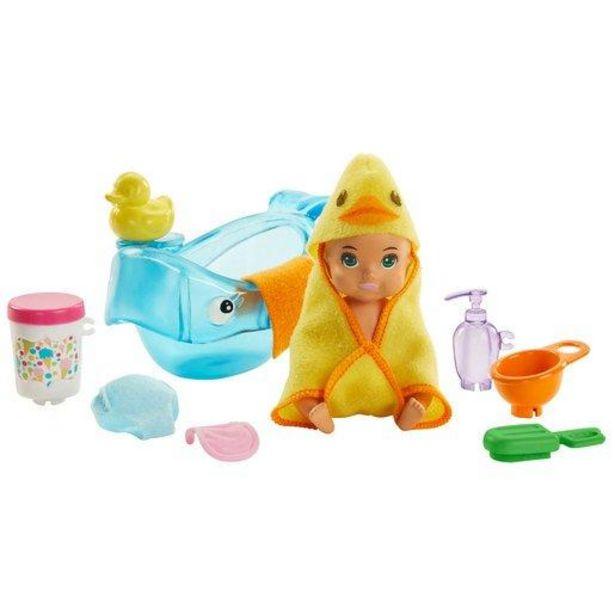 Oferta de Barbie Skypper Niñeras - Figuras de Bebés (Diferentes Modelos) por 9,6€