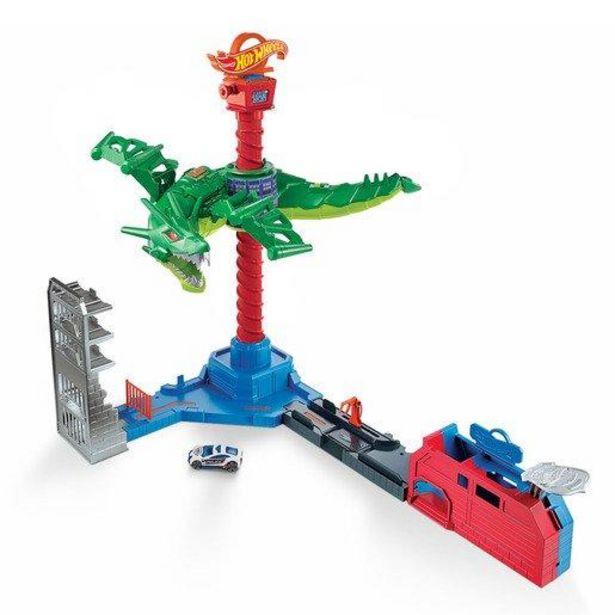 Oferta de Hot Wheels Ataque Aéreo del Dragón por 36,66€
