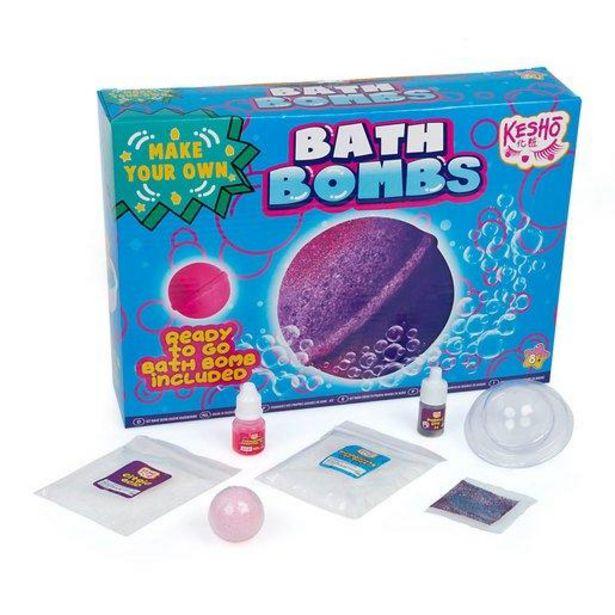 Oferta de Haz Tus Propias Bombas de Baño por 8€