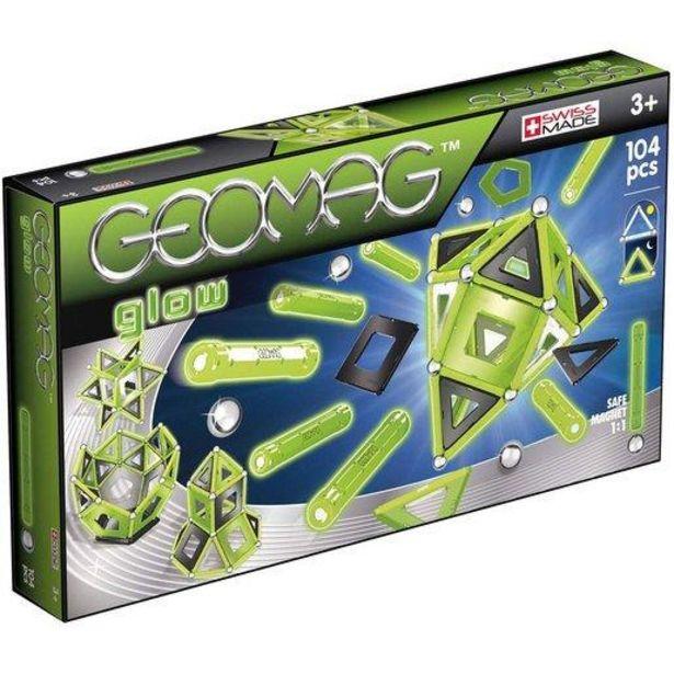 Oferta de Geomag Glow 104 Piezas por 41,99€