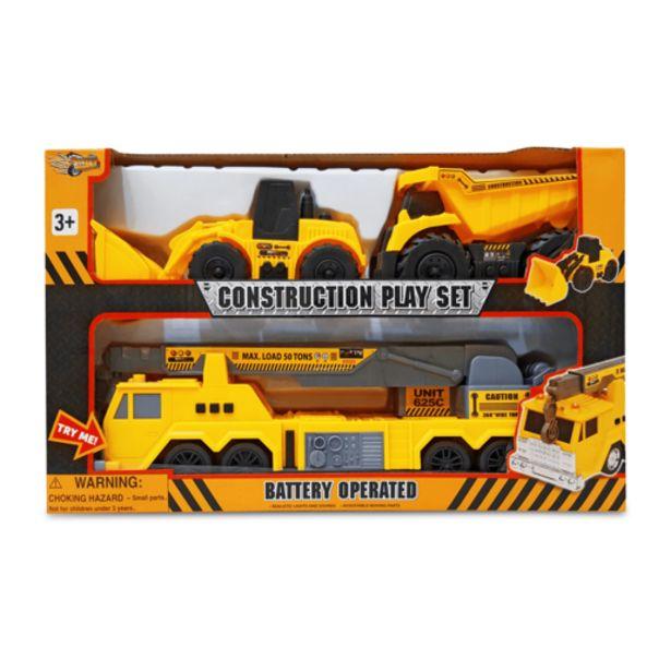 Oferta de Set Vehículos de Construcción por 12,5€