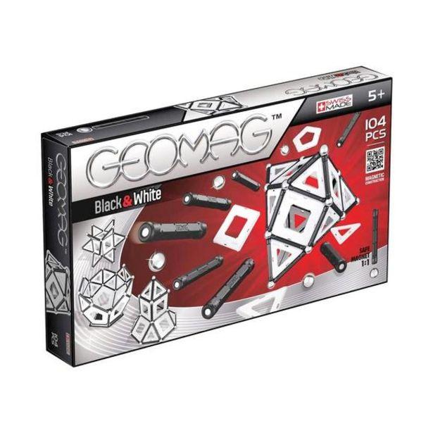 Oferta de Geomag Clásico Black & White 104 Piezas por 41,99€