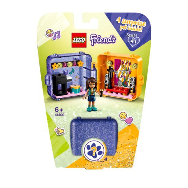 Oferta de Lego Friends Cubo Juegos Andrea- 41400 por 10€