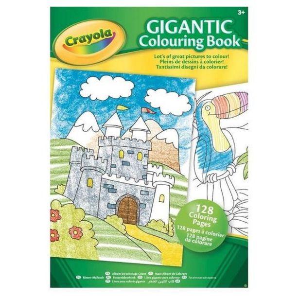 Oferta de Libro Gigante Para Colorear por 4€
