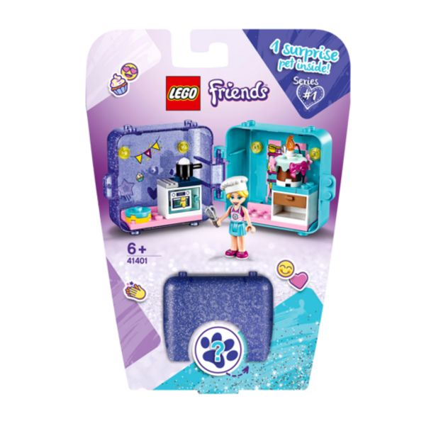 Oferta de Lego Friends Cubo Juegos Stephanie- 41401 por 10€