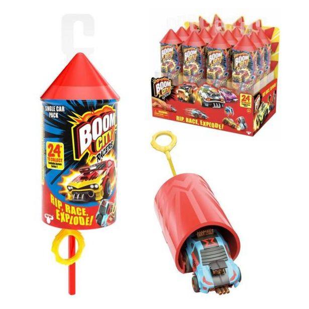 Oferta de Boom City Racers Single Pack (Varios Modelos) por 4€