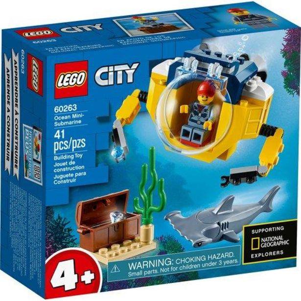 Oferta de Lego City Océano: Minisubmarino - 60263 por 11€