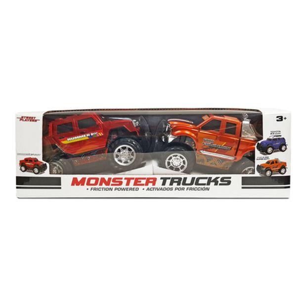 Oferta de Pack de 2 Monster Truck (2 Modelos Diferentes) por 10€