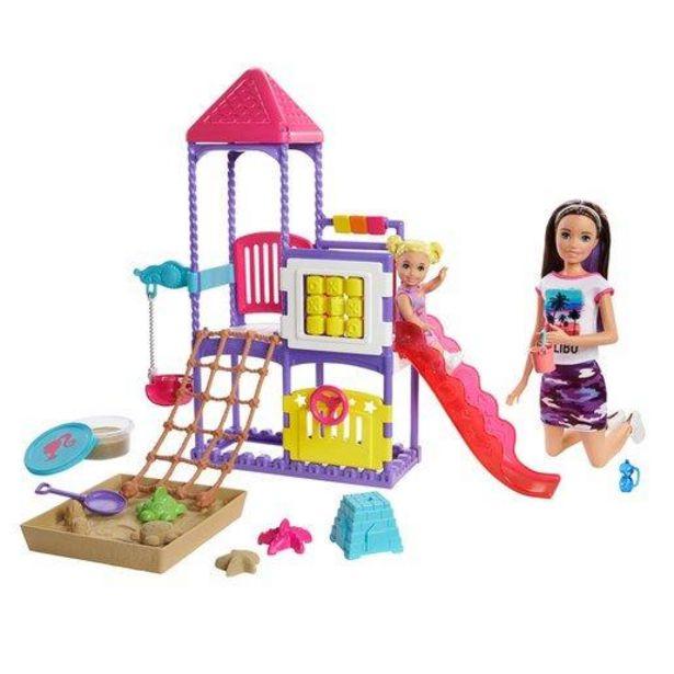 Oferta de Barbie Skipper Canguro Vamos Al Parque por 31,99€