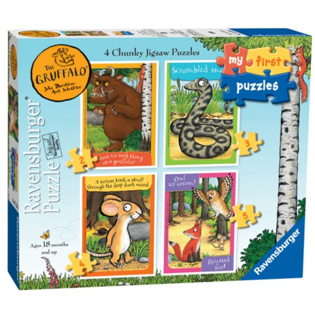 Oferta de Puzzle First 4 en 1 (Varios Modelos) por 7€