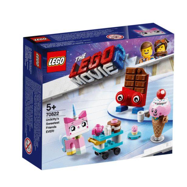 Oferta de La Lego Película 2 Mejores Amigos de Unikitty - 70822 por 7,2€