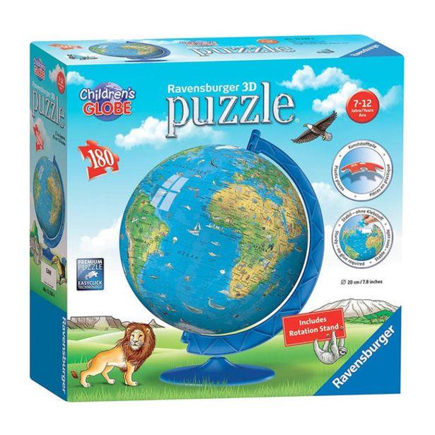 Oferta de Puzzle 3D Globo Terraqueo 180 Piezas por 20€