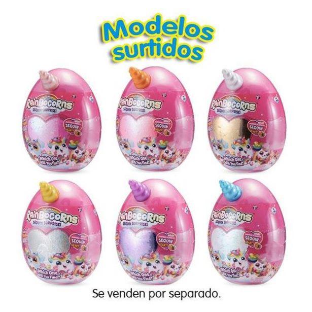 Oferta de Rainbocorns Huevo Sorpresa Corazón Brillante por 9,6€