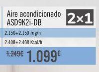 Oferta de Aire acondicionado ASD9K2i-DB por 1099€