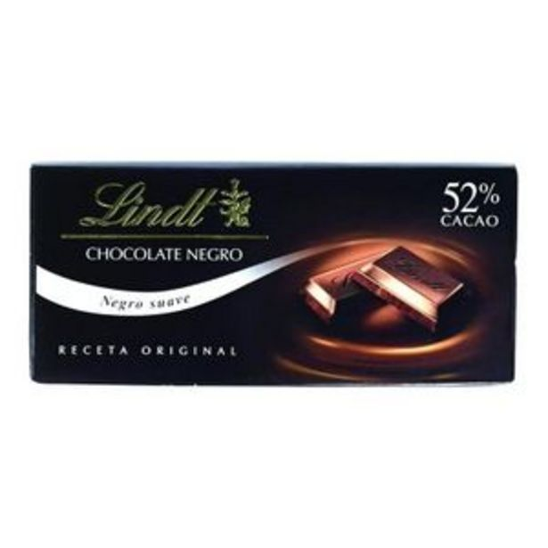 Oferta de Chocolate negro 52% extrafino 125 g por 1,78€
