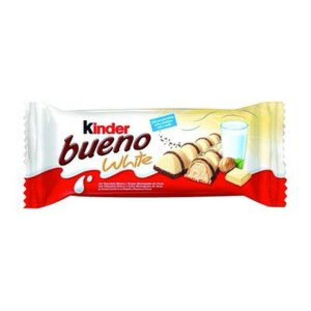Oferta de Chocolatina de chocolate blanco 2 unidades por 0,99€