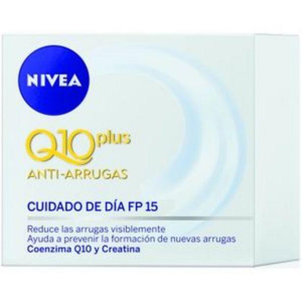 Oferta de Crema facial Q10 día 50 ml por 7,99€