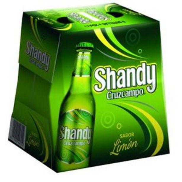 Oferta de Cerveza shandy lima 6x25 cl por 2,4€