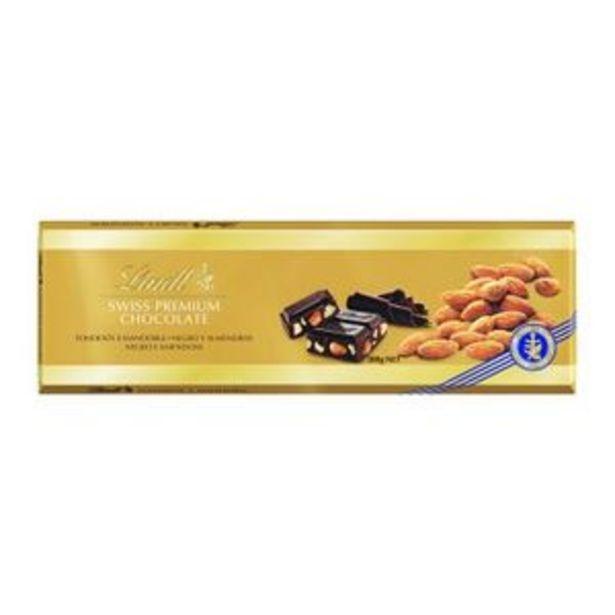 Oferta de Chocolate negro con almendras 300 g por 5,49€