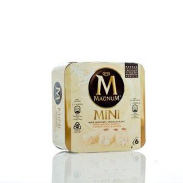 Oferta de Helado mini blanco 6 unidades por 2,99€