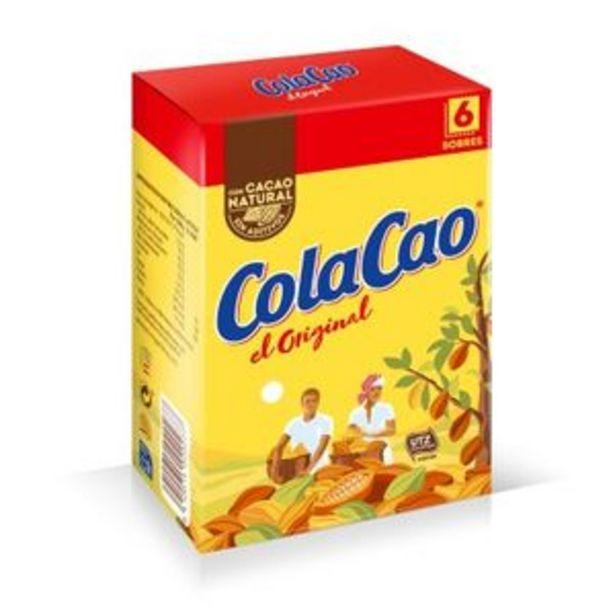 Oferta de Cacao soluble 6 sobres por 1,8€
