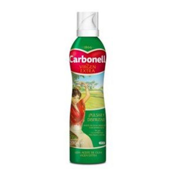 Oferta de Aceite de oliva virgen para ensalada spray 200 ml por 2,69€