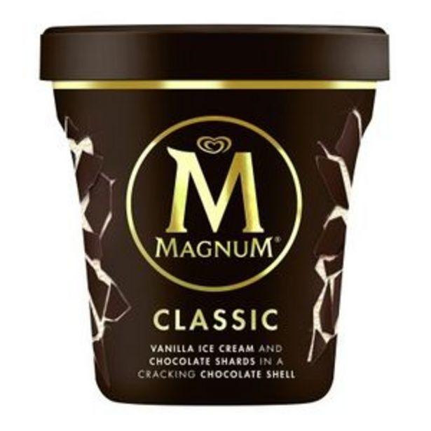 Oferta de Helado Magnum Classic tarrina 440 ml por 5,99€