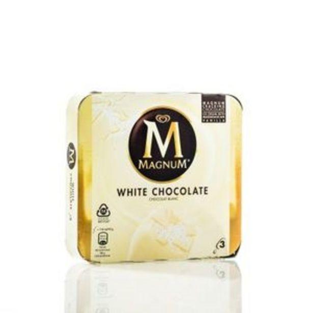 Oferta de Helado chocolate blanco, 3 uds por 3,29€
