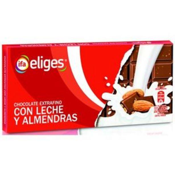 Oferta de Chocolate con leche y almendras 150 g por 0,89€