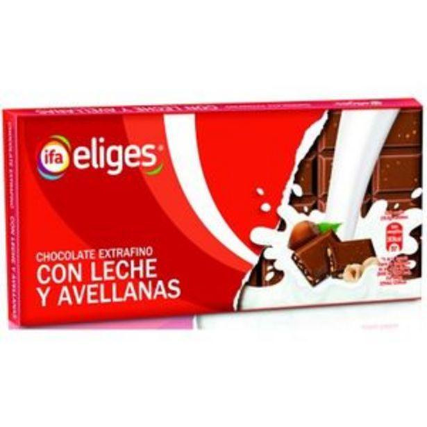 Oferta de Chocolate con leche y avellanas 150 g por 1,08€